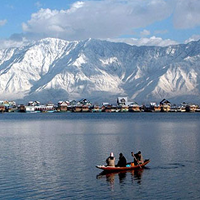 Jammu, Srinagar, Gulmarg, Sonmarg, Pahalgam and Katra Tour 7 Nights/8 Days